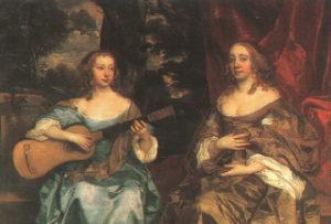 Deux femmes de la famille Lake