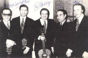 Rubén Morán, Rafael del Pino, Roberto Grela, Anibal Arias y Davis